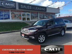2013 Toyota Highlander PLUS AWD 7-PASS CAM P/SEAT *CERTIFIED*