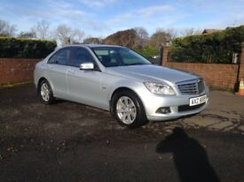 2009 MERCEDES C180 KOMPRESSOR AUTOMATIC FULL LEATHER INTERIOR FSH IMMACULATE CONDITION