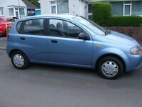 Chevrolet Kalos only 13000 miles one family owned from new REDUCED to £999