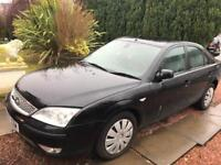 +*+*+*+MUST GO TODAY*+*SPARES&REPAIRS*FORD MONDEO EDGE/2007 MODEL/BLACK/2.0 LTR DIESEL/SERVICED/