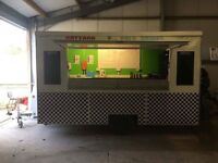 Mobile Catering Burger Van **RENT OR BUY** Comes with EVERYTHING