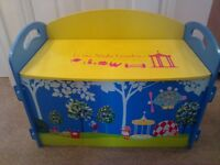 Kids storage toy box chair seat in the night garden bedroom childs nursery cot furniture CAN DELIVER