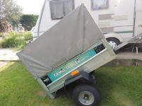 3 year old steel box trailer