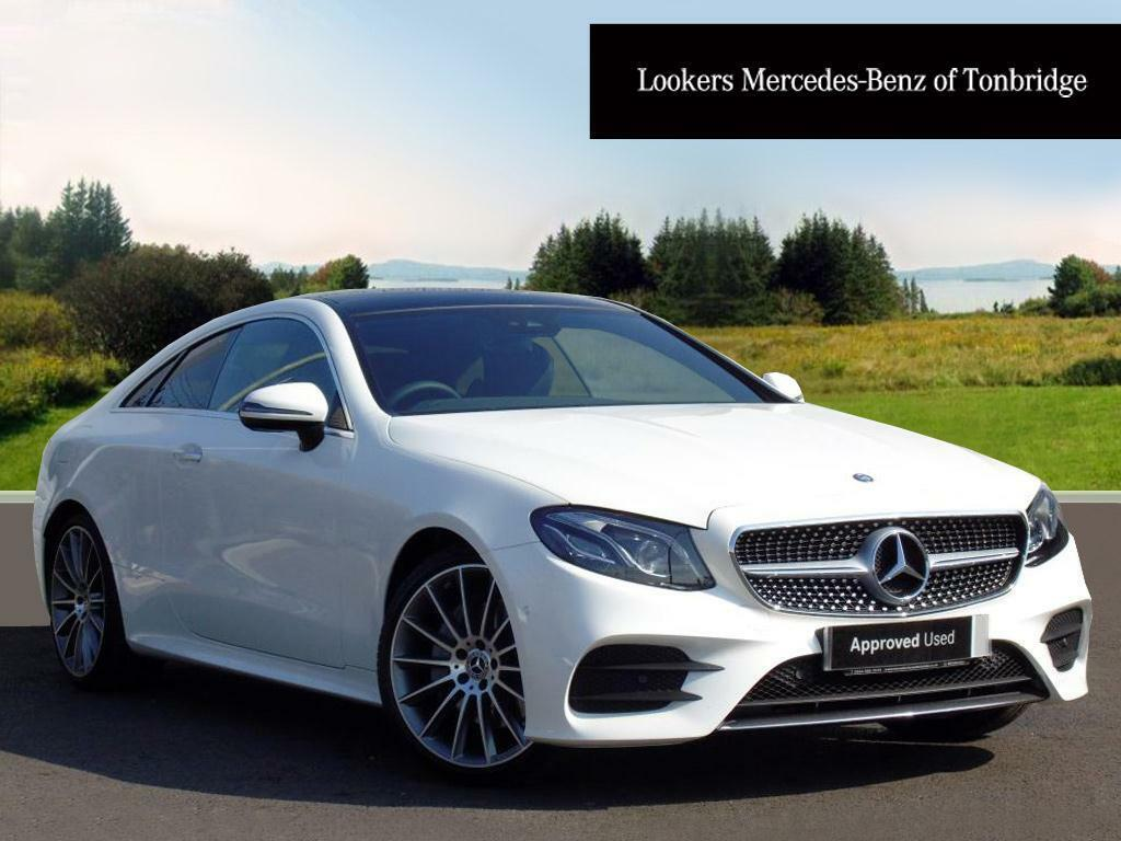 mercedes benz e class e 220 d amg line premium plus white 2017 03 25 in tonbridge kent. Black Bedroom Furniture Sets. Home Design Ideas