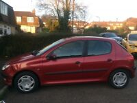 Peugeot 206 for parts 3 new tyres!!