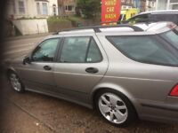 SAAB 9-5 Turbo Diesel Estate, Reliable. Part Service History. MOT March 2018. Reliable