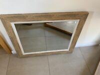 Mirror - wood effect