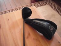 "Wilson Staff ""Smooth"" Driver 10.5 degree Graphite shaft Regular flex with head cover (Pick up only)"