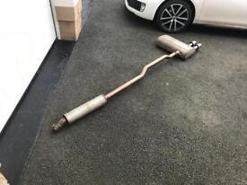 Factory F56 Cooper S exhaust