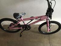 20 inch pink bike