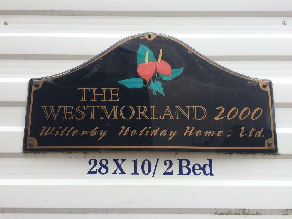 Westmorland Static Caravan 28x10ft unsited