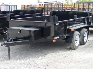 2016 Advantage 3.5 TON 6'x10' DUMP TRAILER