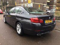 2013 BMW 520D BIG SAT NAV GREY 1 OWNER FSH MINT CONDITION PX