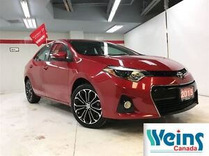 2015 Toyota Corolla $138/Bi-weekly+HST, S , AUTO , LOADED