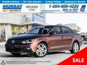 2016 Volkswagen Jetta 1.8 *Bluetooth, Rear View Camera, Sunroof*