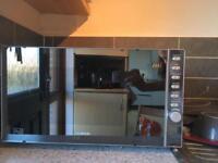 Kenwood microwave 900w mirror finish