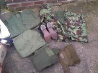 Old army kit