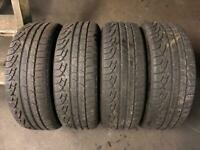 4 Tyres 225 60 17(99H) Pirelli SottoZero Winter 210 RunFlat M+S Between 5mm-6mm