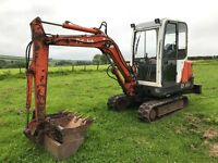Pel job EB30.4 mini digger /excavator no vat ready for work