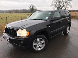 2006 (06) JEEP GRAND CHEROKEE 3.0 CRD AUTO ( discovery shogun pathfinder Range Rover ml)