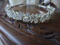 lovely silver and diamonte tiara