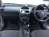 Vauxhall Corsa 5dr automatic petrol 1.0 alloy wheels Silver