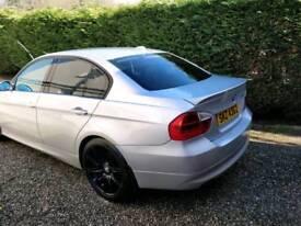Silver 3 Series BMW 320d