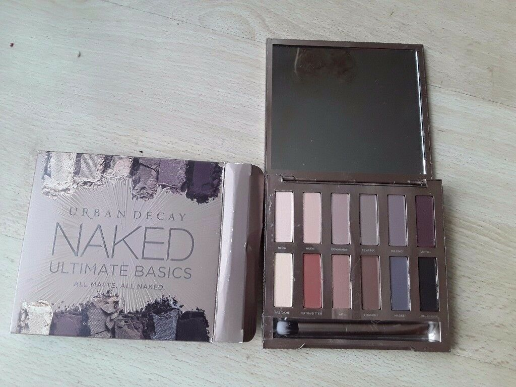 Naked Ultimate Basics Eyeshadow palette BRAND NEW IN BOX
