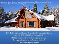 Luxury Relaxation Meditation & Self Development Retreat in the Scottish Cairngorms