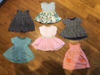 NEXT Spring/Summer Dresses - Baby Girl 6-9 months