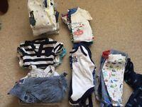 Boys newborn clothes bundle