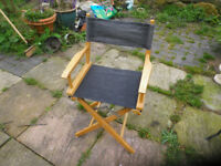 Fold away 'directors' chair.