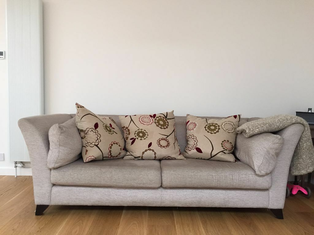 Habitat Homebase Almost New 3 4 Seater SOFA In Hampton London