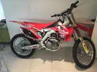 2016 crf250 1 1/2 hours use may PX