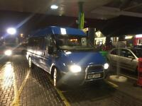 2002 ford transit mini bus 15 seater 189k will be sold with full psv