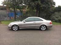 2004/53 Mercedes Clk✅270 CDI Elegance Coupe✅TURBO DIESEL✅FULL LEATHER✅ LIKE BMW AUDI A4 A5