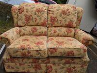 Sofa and chair - g plan
