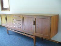 1960/70s teak sideboard