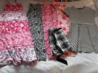 HUGE 40 ITEM BUNDLE GIRLS CLOTHES 9-0-11 40 ITEMS GAP NEXT TU GOOD CONDITION ALL YOU NEED