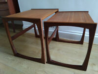 G Plan nest of 2 tables - free delivery available