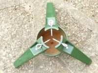 Vintage Cast Iron Yattendon Standfast Christmas Tree Stand