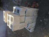Free cinder blocks.