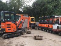 Mini digger hire Bristol dumper hire Bristol