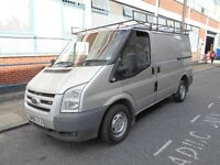 2008 FORD TRANSIT 22TDCI 110T280LX S/HISTORY ROOF RACK REAR LADDER REAR SHELF SILVER MET