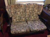 Two seater cottage style sofa