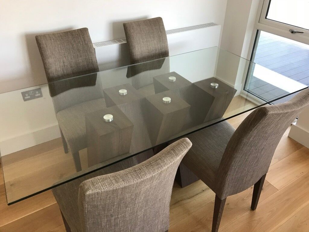 Harveys Piston Dining Table 4 Chairs