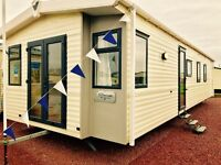 Stylish static caravan for sale at sandy bay holiday park with direct access to beach open 12 months