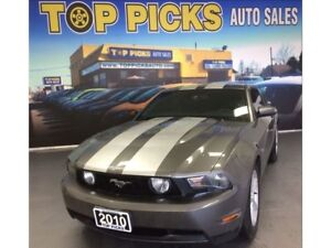 2010 Ford Mustang GT, LEATHER, V8, AUTOMATIC!