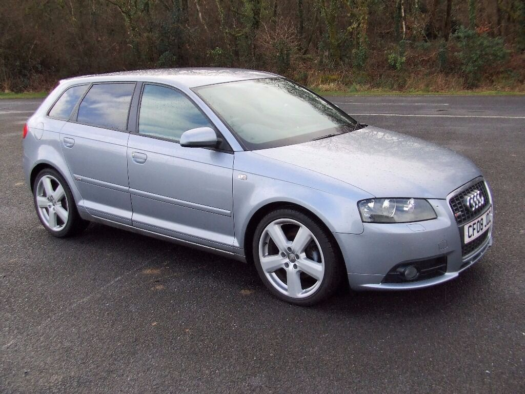 audi a3 tdi s line sportback 140 in silver 5 door 2008 in swansea gumtree. Black Bedroom Furniture Sets. Home Design Ideas