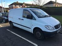 Mercedes Vito Panel Van, 3 Seats, Full Service History, 1 Year MOT